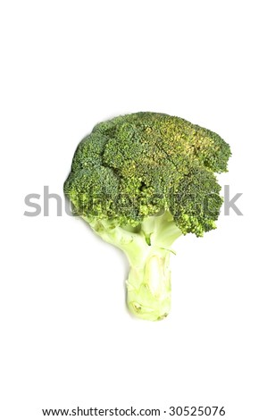 Broccoli close-up - stock photo