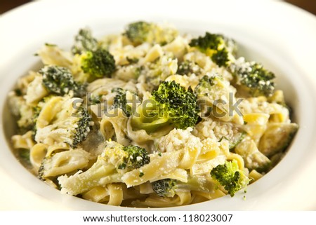 Broccoli Pasta - stock photo