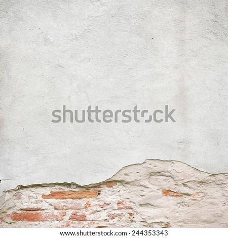 broken wall texture background  - stock photo