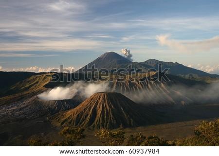 Bromo volcano - stock photo