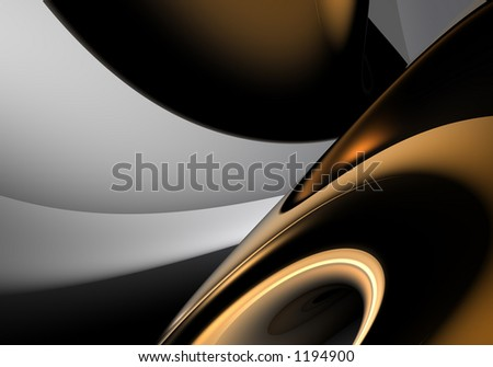 bronce ring - stock photo