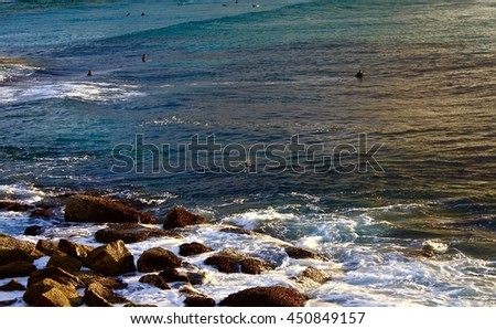 Bronte Sunrise Australia - stock photo