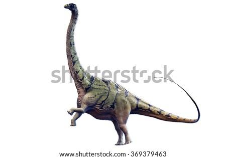 Brontosaurus - stock photo