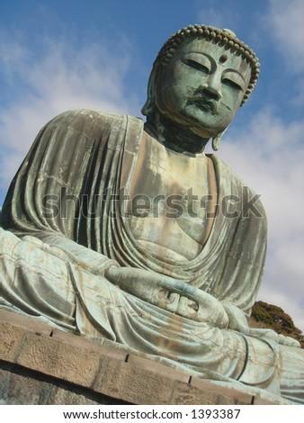 Bronze Buddha - Kamakura - stock photo