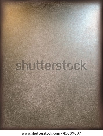 brown background gallery view - stock photo