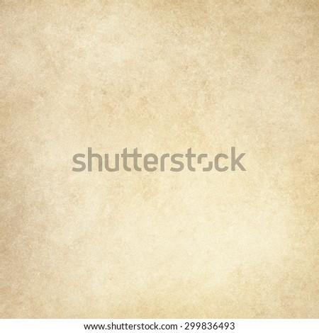brown beige background, light tan color design, vintage grunge texture - stock photo