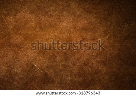 Brown canvas texture background. - stock photo