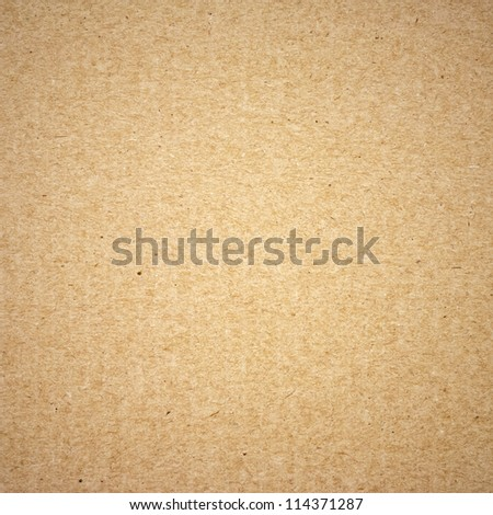 brown cardboard closeup texture for background - stock photo