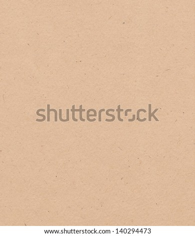 Brown cardboard texture, background - stock photo