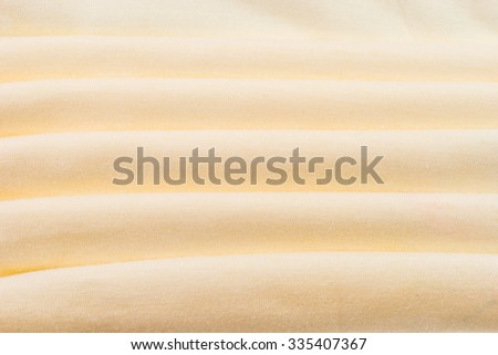 Brown cloth fabric material background texture - stock photo