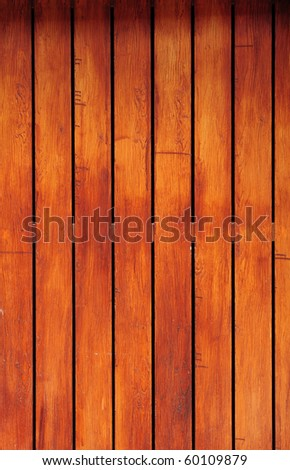 brown color wood texture board - stock photo