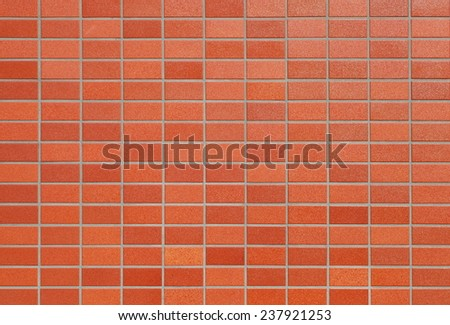Brown concrete or cement modern tile wall background and texture  - stock photo
