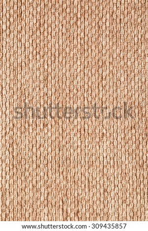 Brown corrugation fabric background  - stock photo