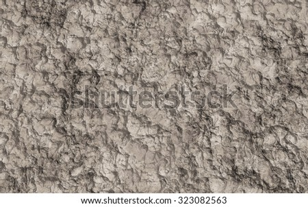 Brown dirt of soil for of background texture. - stock photo