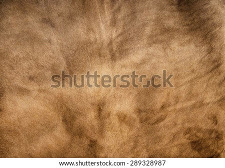Brown (Faded) Leather for Concept and Idea Style of Fine Leather Crafting, Handcrafts Work Space, Handmade Leather handcrafted, leather worker. Background Textured and Wallpaper. - stock photo