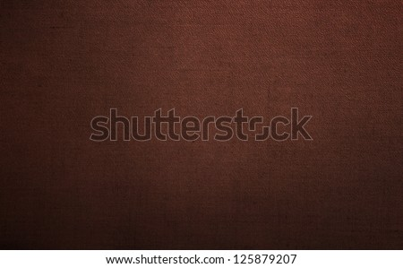 Brown leather background or texture - stock photo