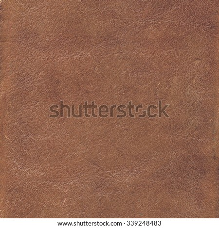brown leather texture, useful for background - stock photo