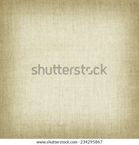 brown natural linen texture for the background. - stock photo