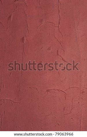 Brown painted paper texture - stock photo