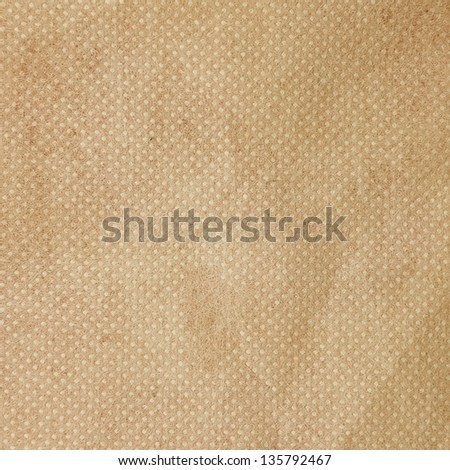 Brown paper background, craft paper - stock photo