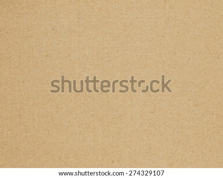 Brown Paper Box texture - stock photo