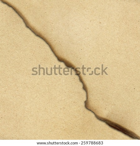 brown paper texture burnt - stock photo