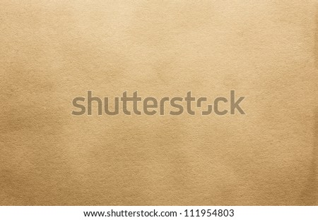 Brown paper texture for artwork / Old paper texture - stock photo