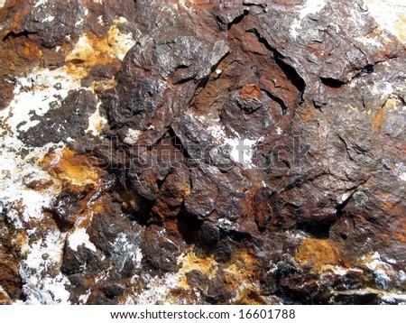 Brown rust - stock photo