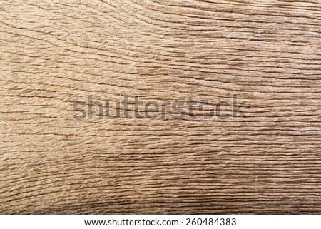 Brown rustic wood grain texture as background. - stock photo