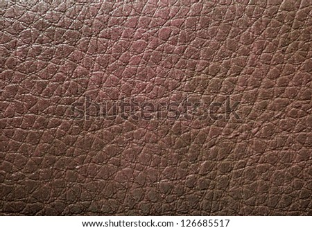 Brown skin texture - stock photo