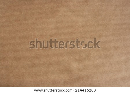 brown striped kraft paper texture or background  - stock photo