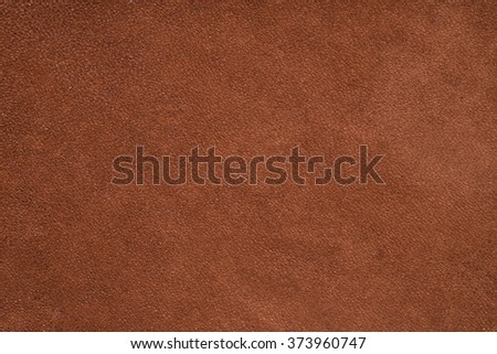 Brown suede texture, background - stock photo