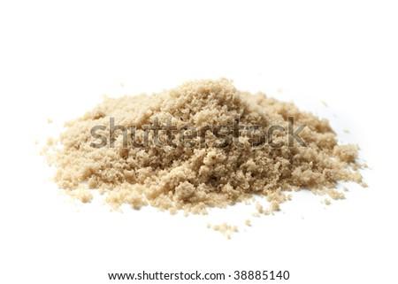 Brown Sugar Pile - stock photo