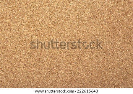 Brown textured cork - closeup - stock photo