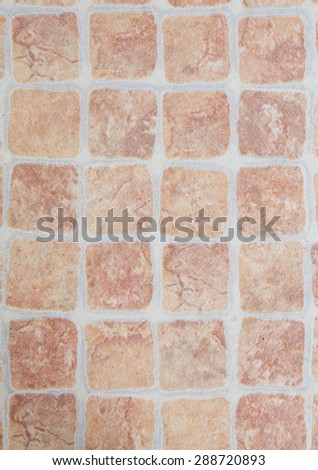 Brown tile pattern texture background - stock photo