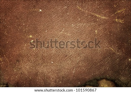 Brown vintage background - stock photo