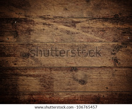 brown vintage wooden panels backgrounds - stock photo