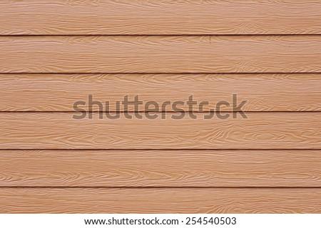 brown wood panel - stock photo