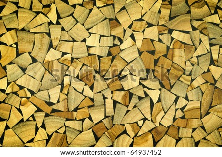 brown wood texture patterns - stock photo