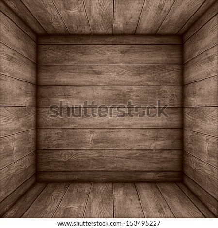 brown wooden background or sepia planks texture - stock photo
