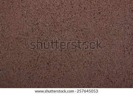Brownie bottom - stock photo