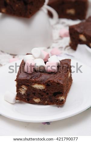 Brownies - stock photo