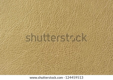 Brownish Green Artificial Leather Background Texture - stock photo