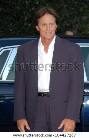 Bruce Jenner  at the Aces and Angels Celebrity Poker Party. Playboy Mansion, Beverly Hills, CA 07-11-09 - stock photo