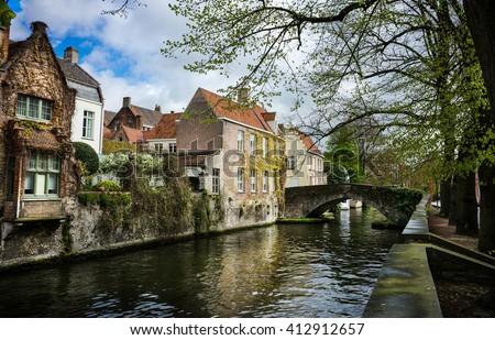Brugge, Belgium  - stock photo