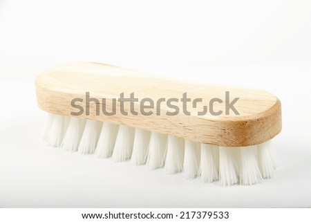 Brush for hand washing - stock photo
