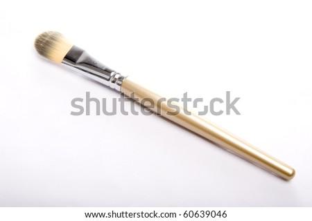 Brush for makeup - stock photo