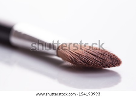 brush set makeup - stock photo