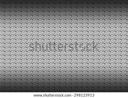 Brushed aluminum metallic plate useful for backgrounds - stock photo