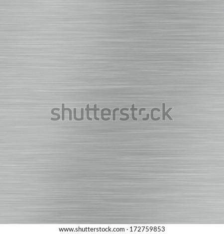 Brushed frame of metal surface, aluminium texture - stock photo